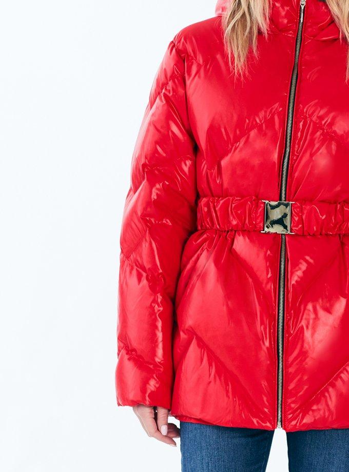 Пуховик Leia red MRCH_Aqua-21-4_r, фото 1 - в интеренет магазине KAPSULA
