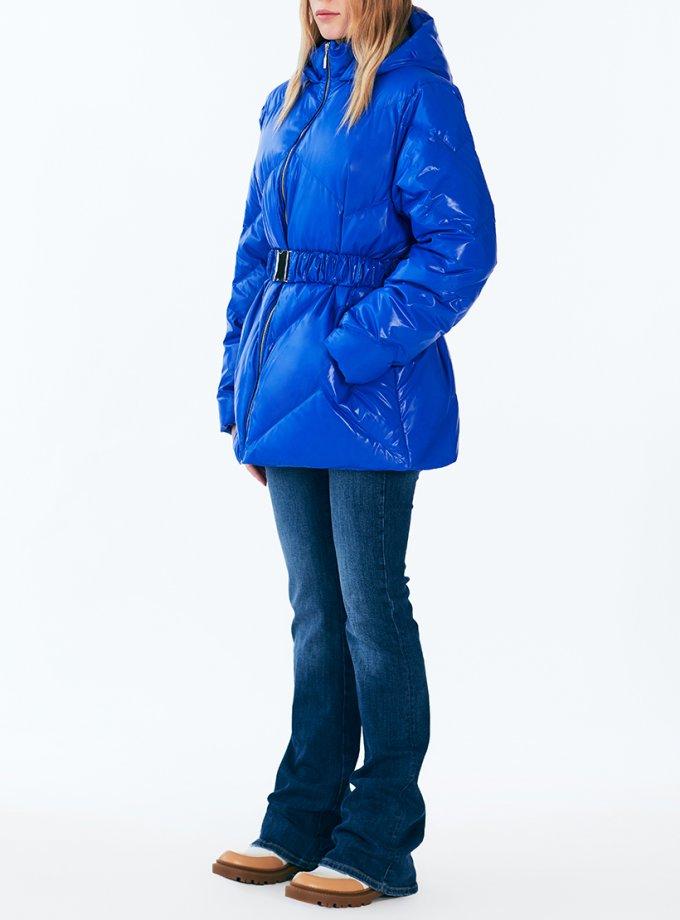 Пуховик Leia blue MRCH_Aqua-21-4_bl, фото 1 - в интеренет магазине KAPSULA