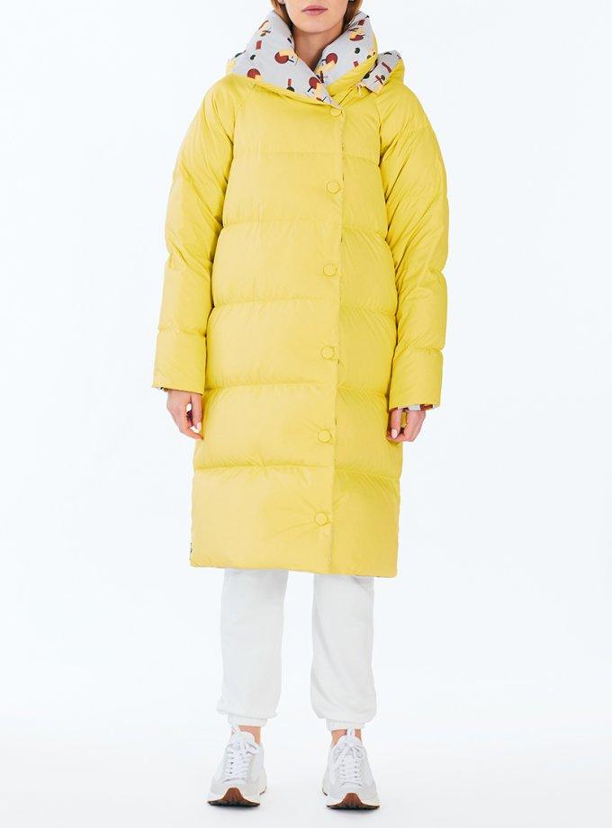 Двусторонний пуховик Dabl yellow MRCH_Aqua-21-6_yell, фото 1 - в интеренет магазине KAPSULA