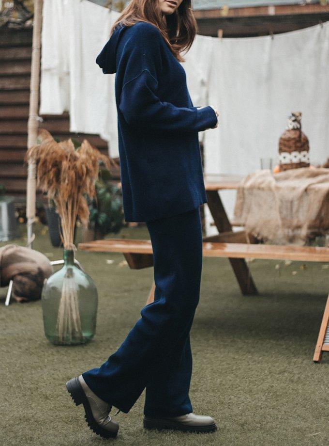 Худи из шерсти KBL_2011-HOODEDWBLUOVER, фото 1 - в интернет магазине KAPSULA