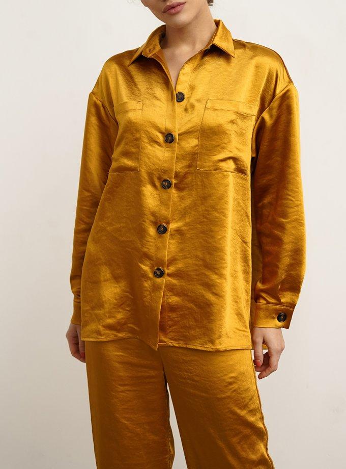Рубашка свободного кроя NVL_FW2020_11, фото 1 - в интернет магазине KAPSULA