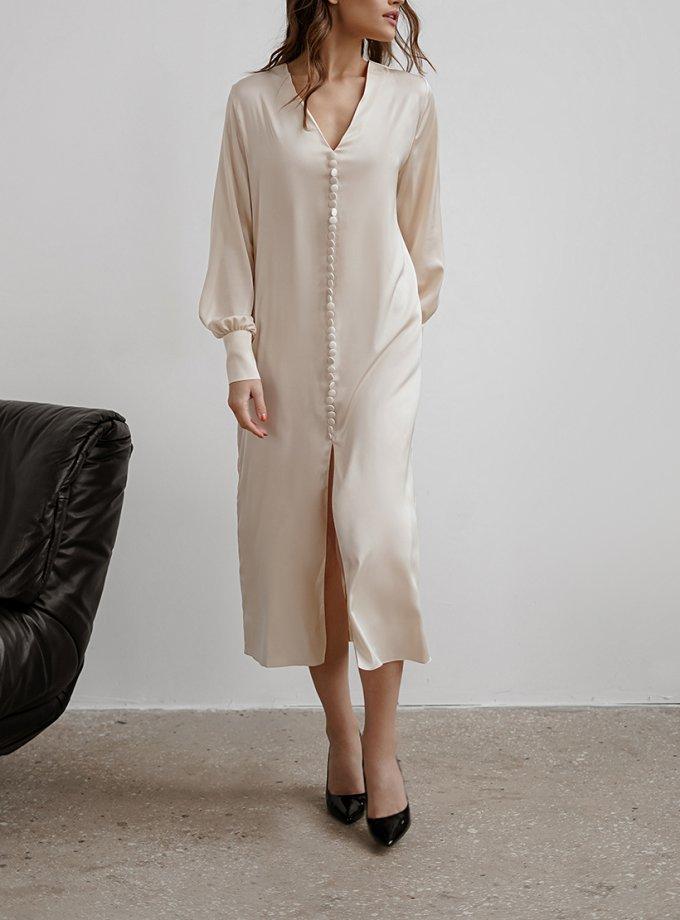 Платье миди с пуговицами NVL_FW2020_13, фото 1 - в интеренет магазине KAPSULA