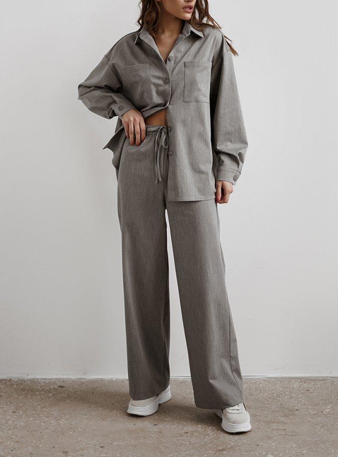 Костюмные брюки из шерсти NVL_FW2020_8, фото 1 - в интеренет магазине KAPSULA