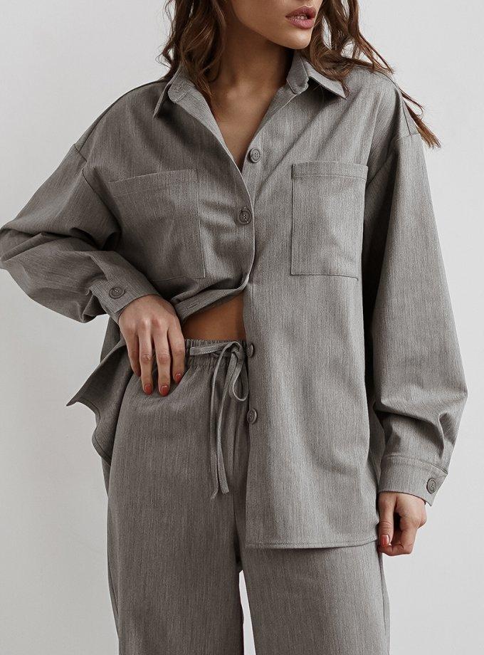 Рубашка из шерсти NVL_FW2020_9, фото 1 - в интернет магазине KAPSULA