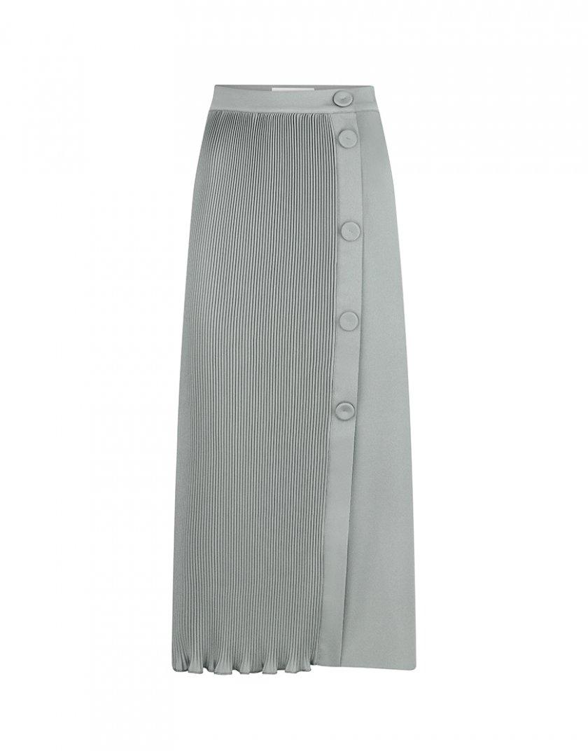 Юбка плиссе на запах SAYYA_FW1080-1-1, фото 1 - в интернет магазине KAPSULA