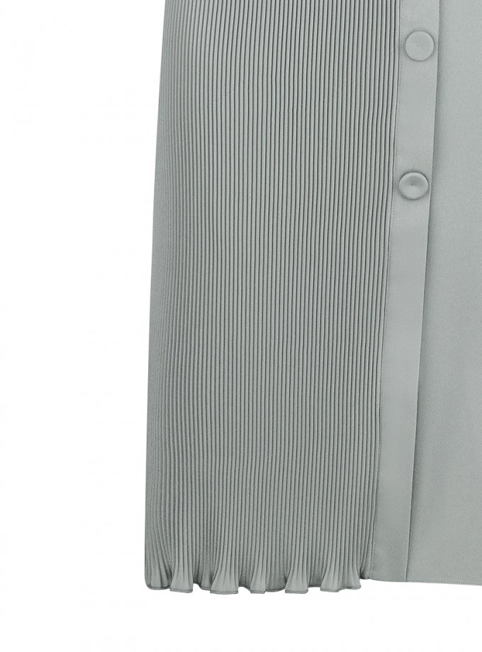 Юбка плиссе на запах SAYYA_FW1080-1-1, фото 1 - в интеренет магазине KAPSULA