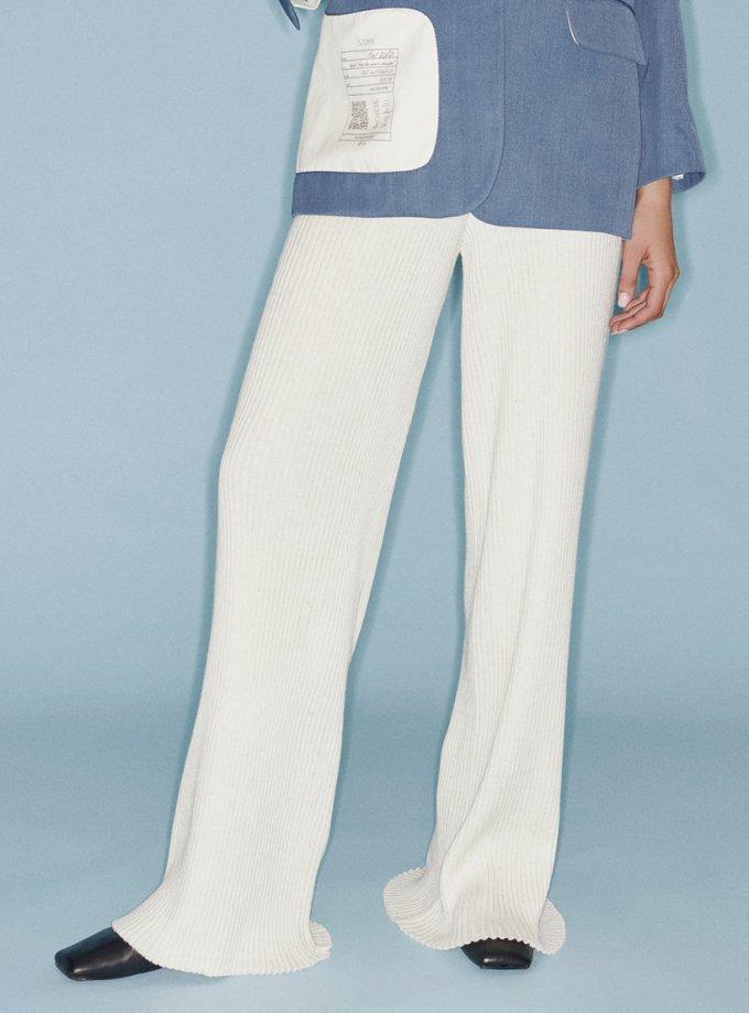Вязанные брюки из шерсти SAYYA_FW1084-1, фото 1 - в интеренет магазине KAPSULA