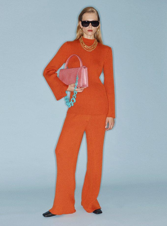 Вязанные брюки из шерсти SAYYA_FW1084, фото 1 - в интеренет магазине KAPSULA
