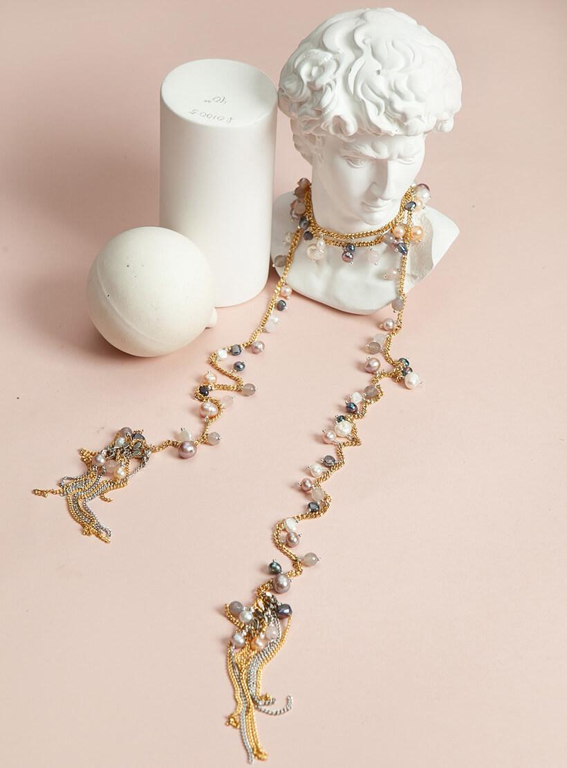 Колье ANGEL GOLD SMKSH_ANGEL _GOLD, фото 1 - в интернет магазине KAPSULA