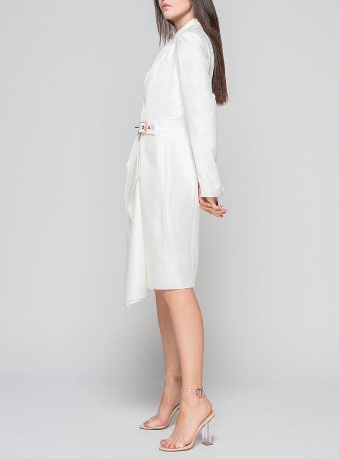 Платье из шерсти на запах TT_FW21_01, фото 1 - в интеренет магазине KAPSULA