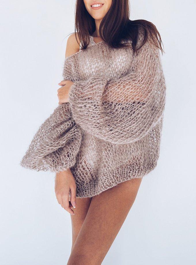 Объемный свитер из мохера WN_AIM04, фото 1 - в интеренет магазине KAPSULA