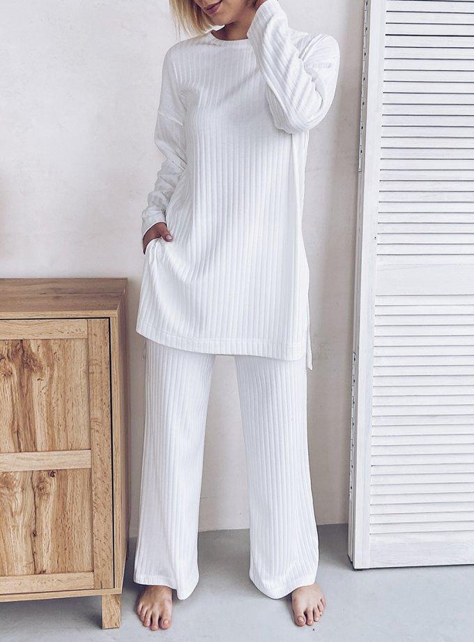 Трикотажный костюм в рубчик WN_AIM06, фото 1 - в интеренет магазине KAPSULA
