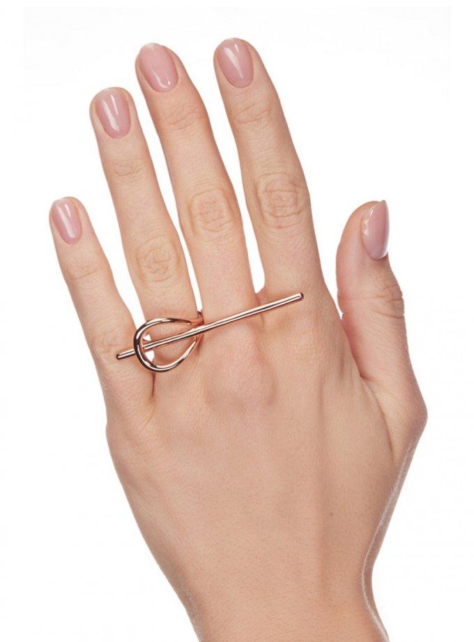 Серебряное кольцо FUTURE rose AA_3K089-0003, фото 1 - в интеренет магазине KAPSULA