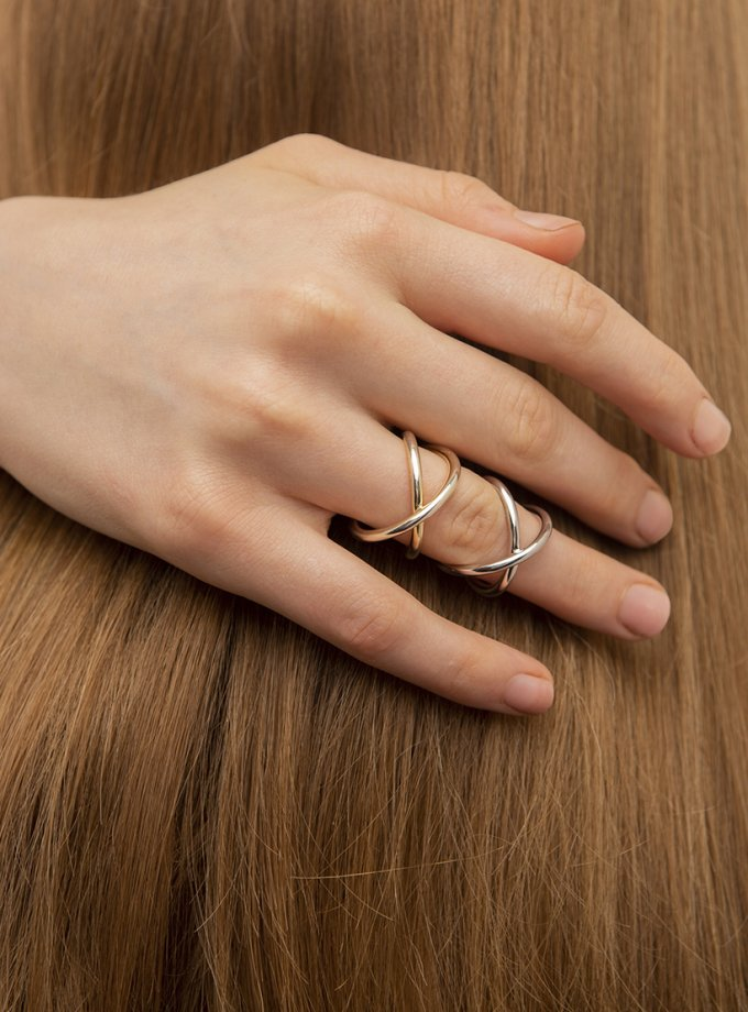 Серебряное кольцо MOTION yellow AA_3K089-0009, фото 1 - в интеренет магазине KAPSULA