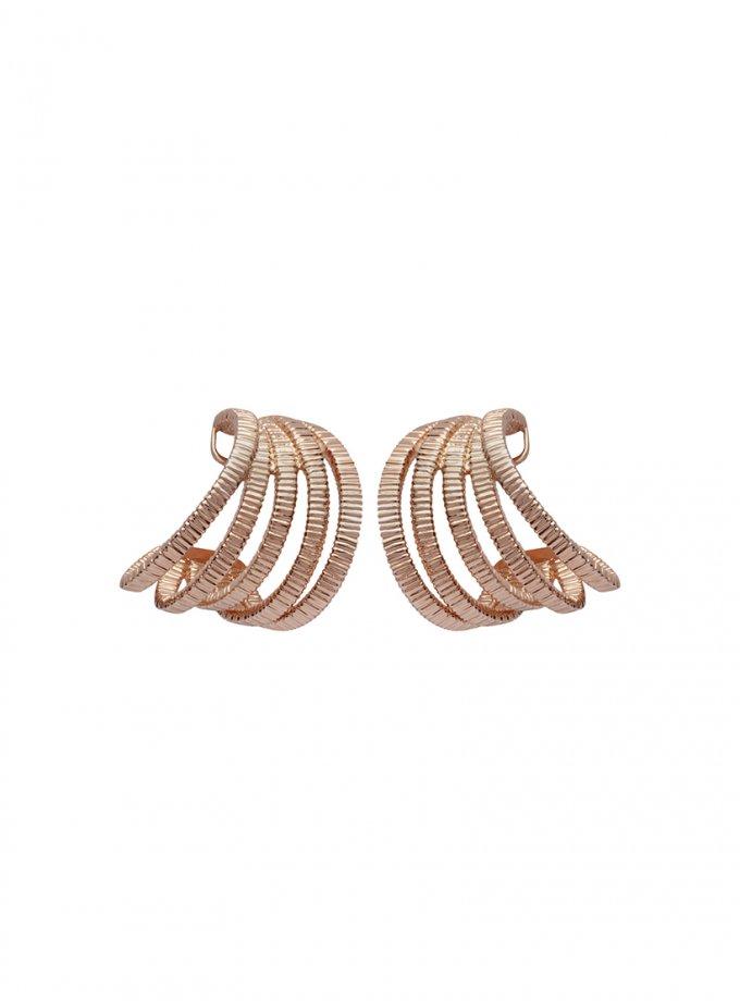 Серебряные серьги PARAMETRIC rose AA_3C089-0008, фото 1 - в интеренет магазине KAPSULA