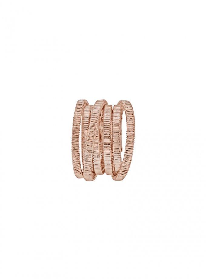 Кольцо PARAMETRIC rose из серебра AA_3K089-0020, фото 1 - в интеренет магазине KAPSULA