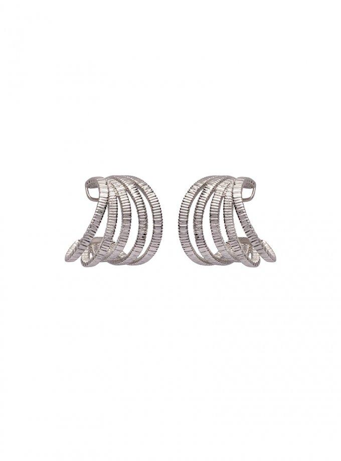 Серебряные серьги PARAMETRIC AA_3C089-0007, фото 1 - в интеренет магазине KAPSULA