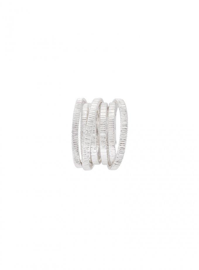 Серебряное кольцо PARAMETRIC AA_3K089-0019, фото 1 - в интеренет магазине KAPSULA