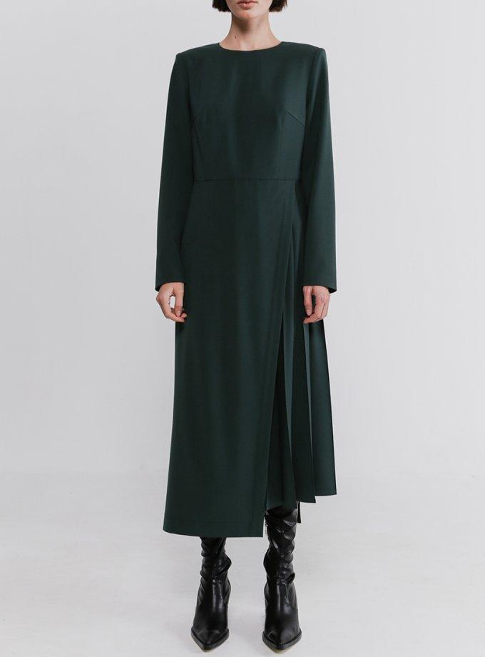 Платье со вставкой плиссе SHKO_20035002, фото 1 - в интеренет магазине KAPSULA