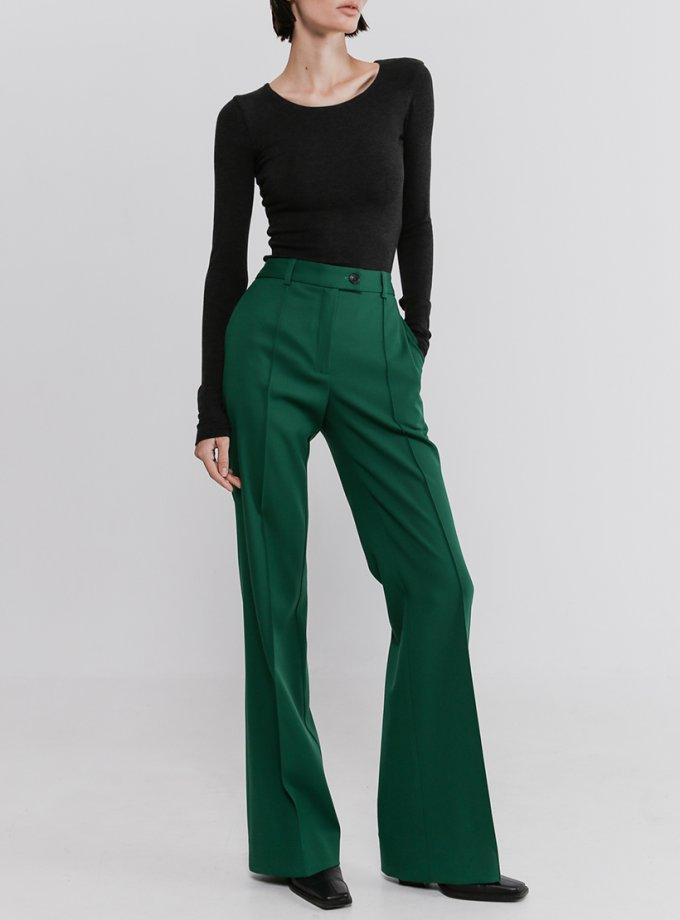 Прямые брюки со стрелками из шерсти SHKO_20017007, фото 1 - в интеренет магазине KAPSULA