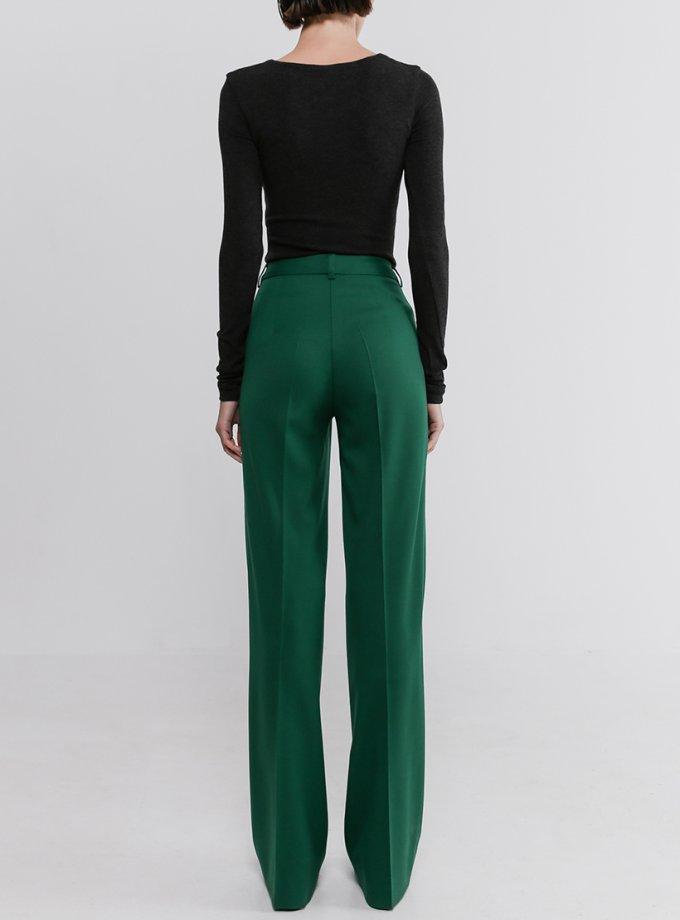 Прямые брюки со стрелками из шерсти SHKO_20017007, фото 1 - в интернет магазине KAPSULA
