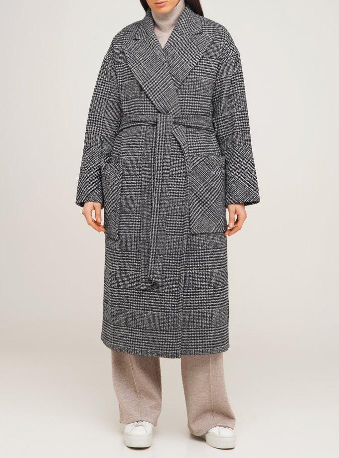 Шерстяное пальто-халат AY_1849, фото 1 - в интеренет магазине KAPSULA