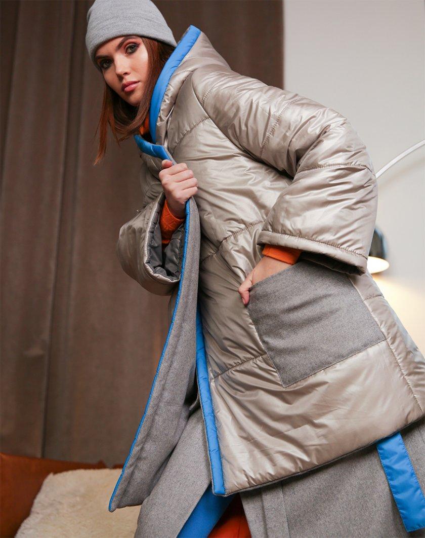 Стёганная двусторонняя куртка TBC_20088wpl_1904z, фото 1 - в интернет магазине KAPSULA