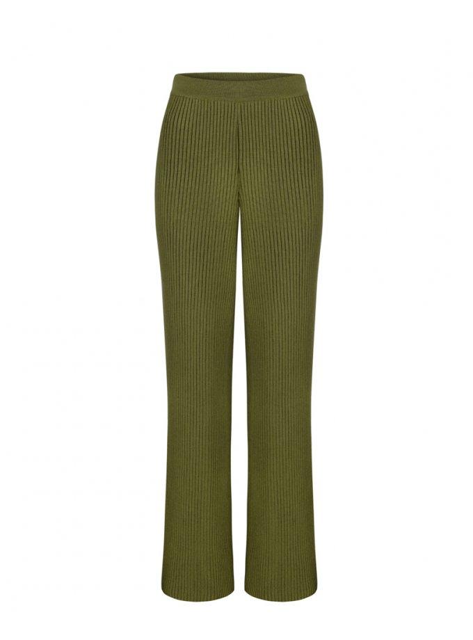 Вязаные брюки из шерсти SAYYA_FW1084-3, фото 1 - в интернет магазине KAPSULA
