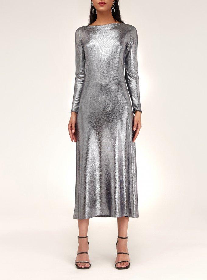 Платье с металлическим блеском CVR_NY21TERM, фото 1 - в интеренет магазине KAPSULA