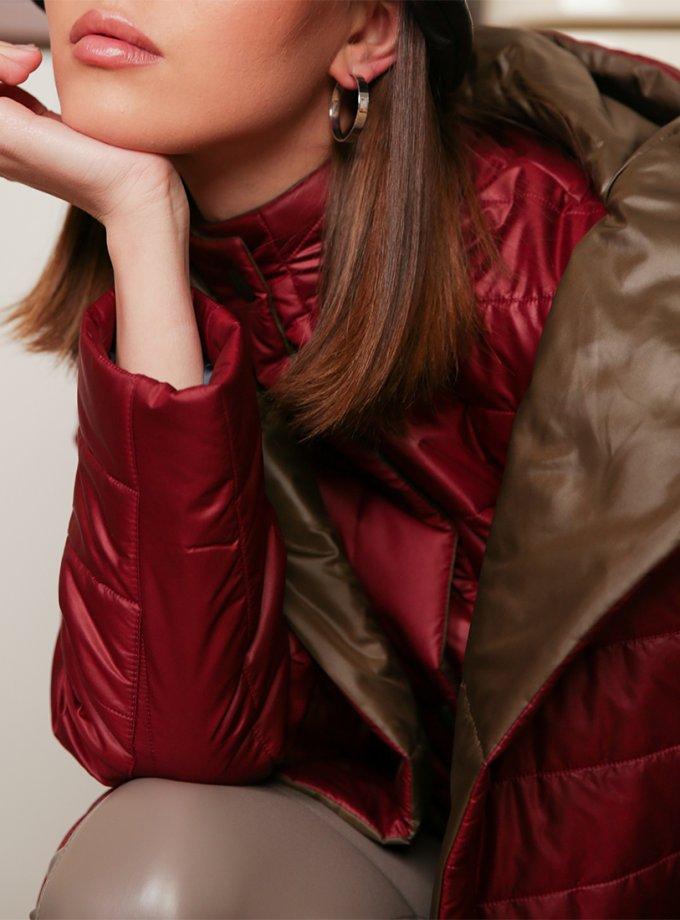 Куртка и жилет из стеганной плащевки TBC_20089pl_002, фото 1 - в интеренет магазине KAPSULA