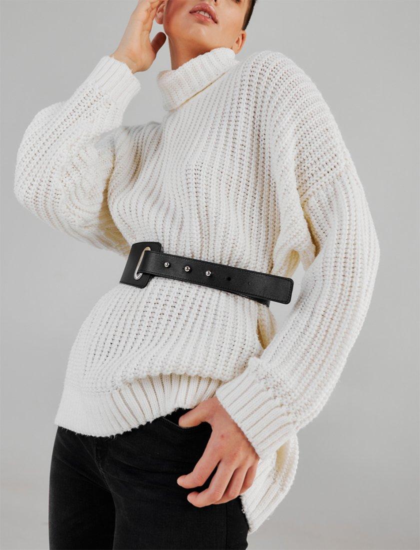 Кожаный ремень на кобурных застежках KLNA_belt-2, фото 1 - в интеренет магазине KAPSULA