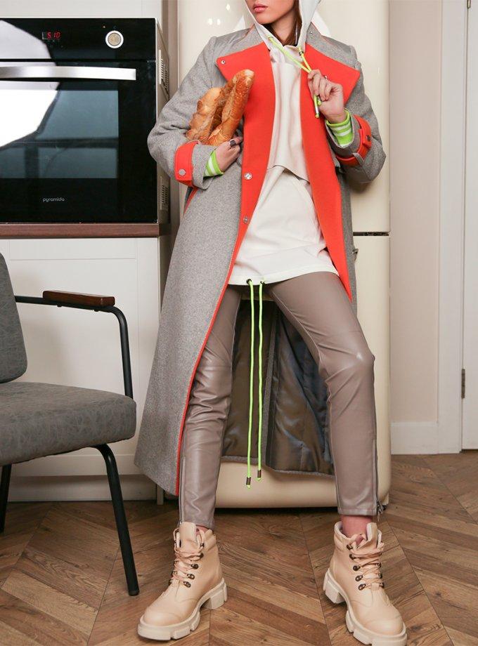 Пальто из шерсти TBC_20091wpl_1916z, фото 1 - в интеренет магазине KAPSULA