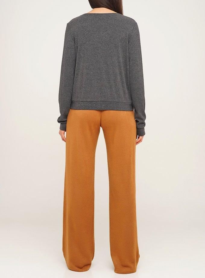 Широкие брюки из шерсти AY_3078, фото 1 - в интернет магазине KAPSULA