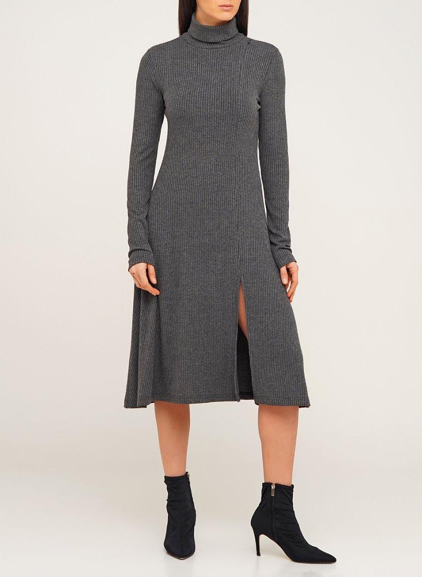 Платье миди из шерсти AY_3081, фото 1 - в интернет магазине KAPSULA