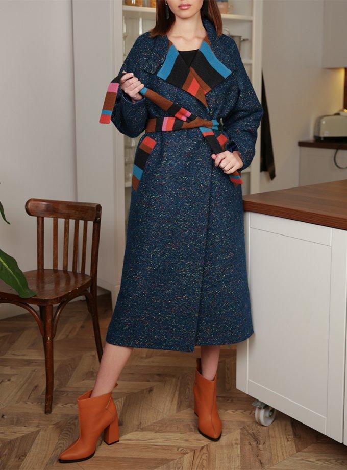 Утепленное пальто из шерсти TBC_20092w_1918, фото 1 - в интеренет магазине KAPSULA