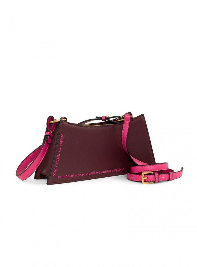 Кожаная сумка #колиянебоялась MRSL_30_331120, фото 1 - в интеренет магазине KAPSULA