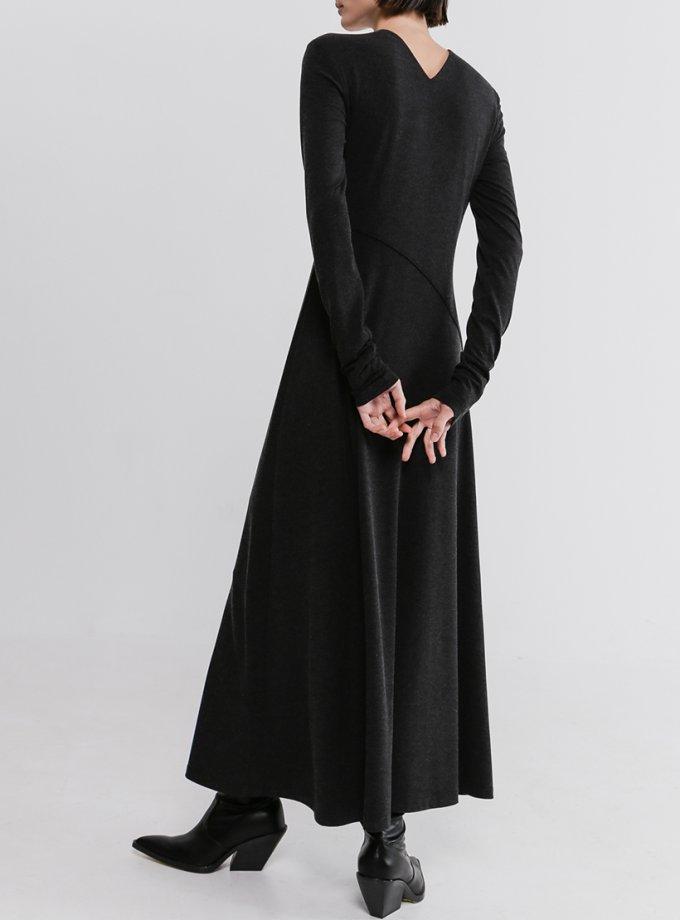 Платье макси с вырезами SHKO_20037001, фото 1 - в интернет магазине KAPSULA