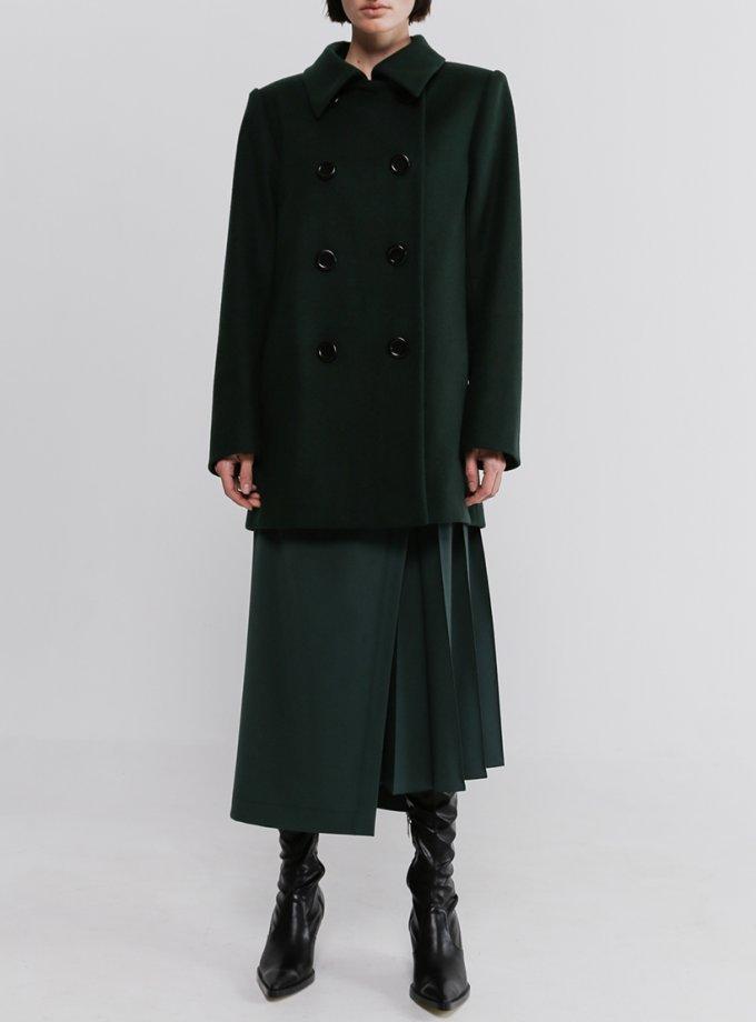 Двубортное пальто из шерсти SHKO_20036002, фото 1 - в интеренет магазине KAPSULA