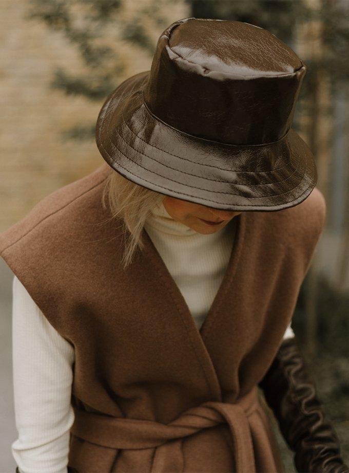 Теплая шляпа на подкладке MNTK_MTF2033, фото 1 - в интеренет магазине KAPSULA