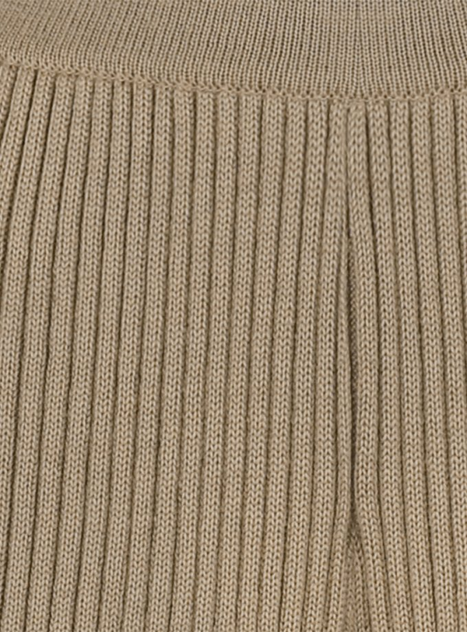 Вязаные брюки из шерсти SAYYA_FW1084-4, фото 1 - в интернет магазине KAPSULA