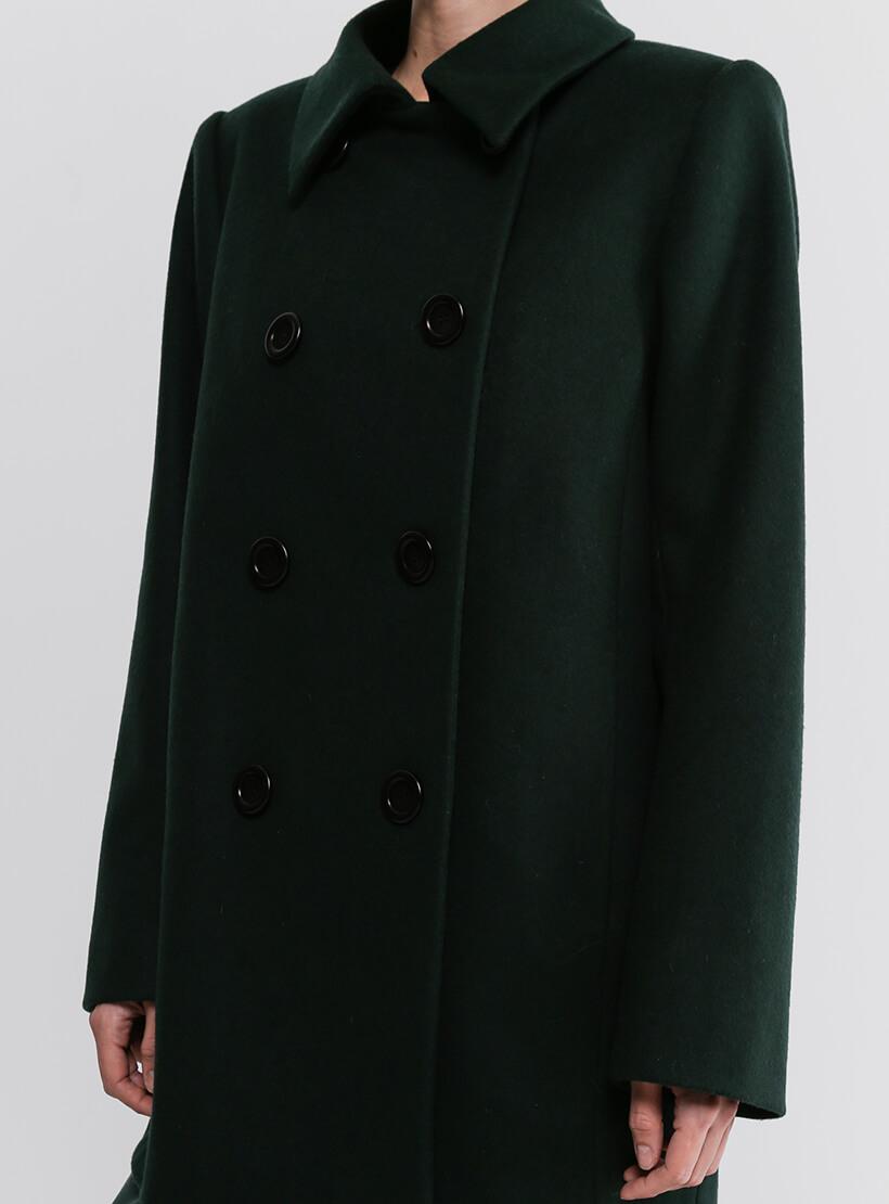 Двубортное пальто из шерсти SHKO_20036002, фото 1 - в интернет магазине KAPSULA