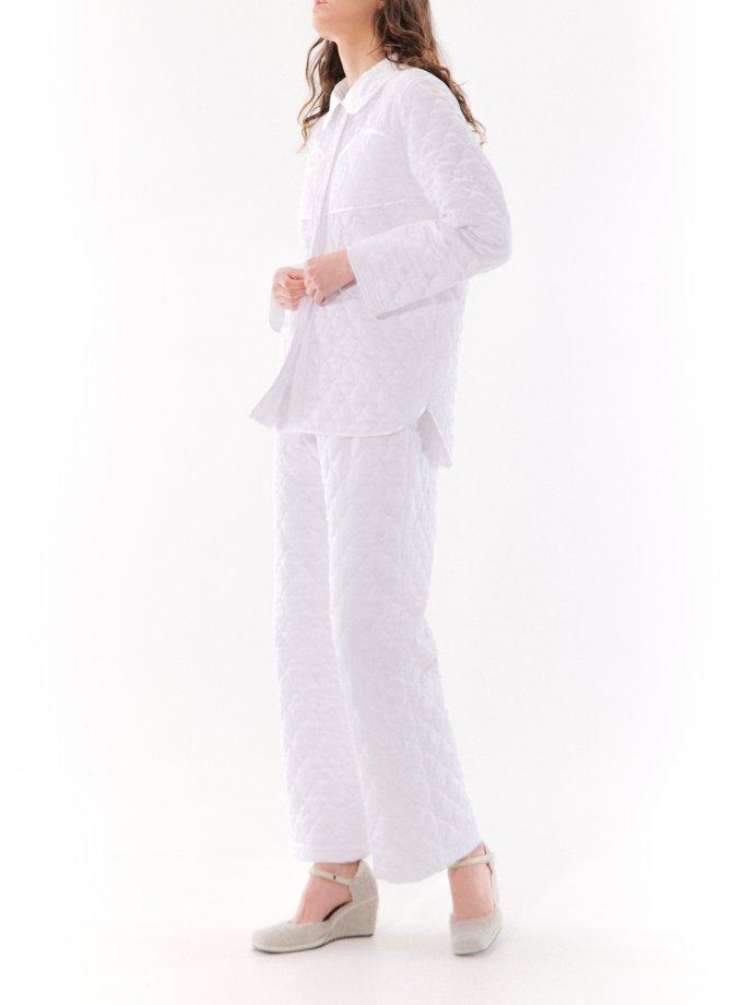 Стеганная пижама Ann MRCH_CHR_01_white, фото 1 - в интеренет магазине KAPSULA
