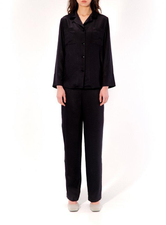 Пижама Linda MRCH_CHR_02_black, фото 1 - в интеренет магазине KAPSULA