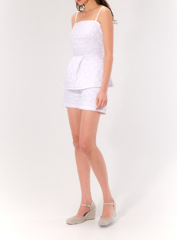 Стеганные шорты Sue MRCH_CHR_06_white, фото 1 - в интеренет магазине KAPSULA