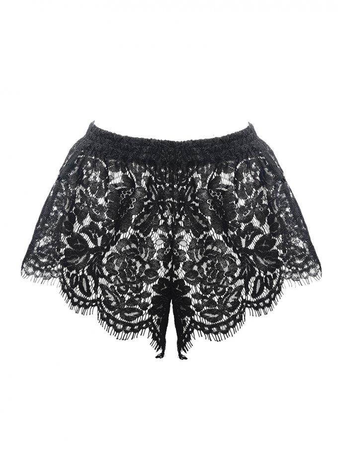 Кружевные шорты Erato DONT_М1705, фото 1 - в интернет магазине KAPSULA