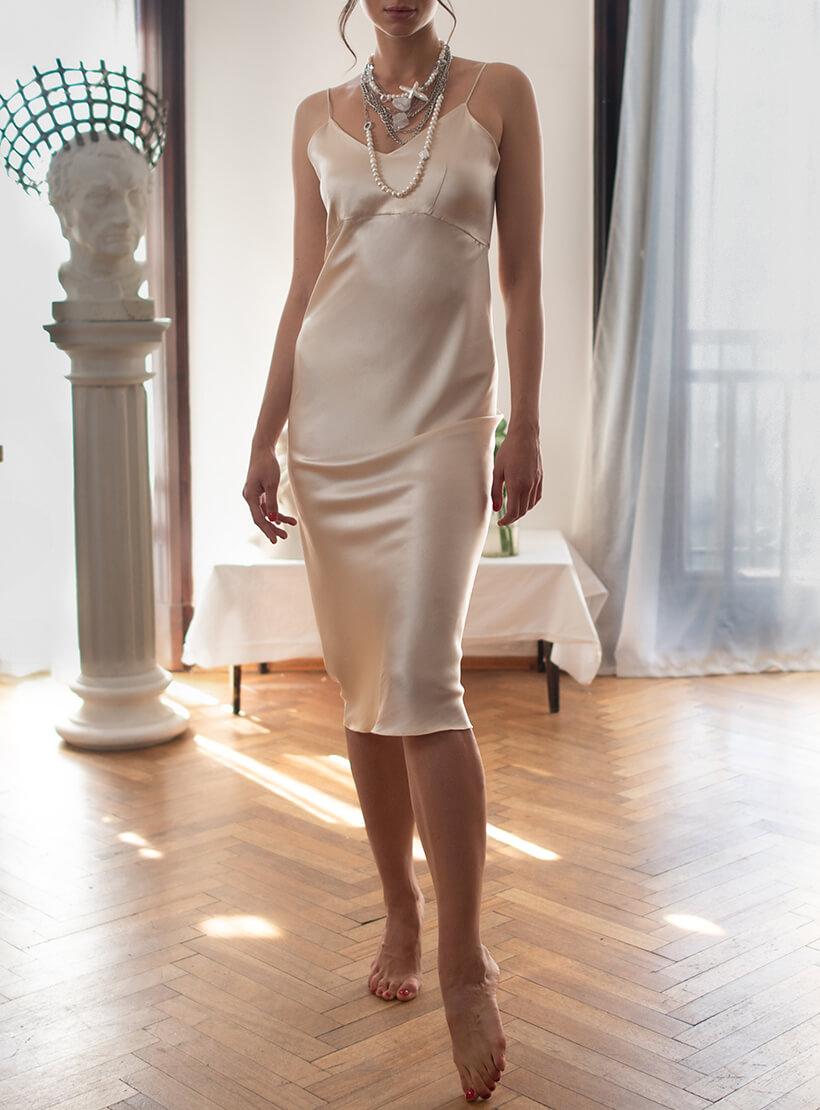 Шелковое платье Thalia DONT_М1709, фото 1 - в интеренет магазине KAPSULA