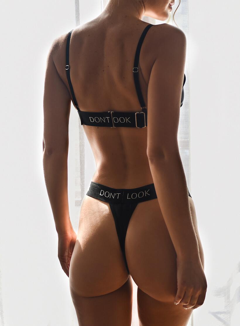 Шелковые стринги Sketch On Body DONT_M17411, фото 1 - в интернет магазине KAPSULA