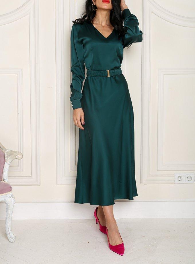 Платье миди с поясом VONA_FW-20_21-57, фото 1 - в интеренет магазине KAPSULA