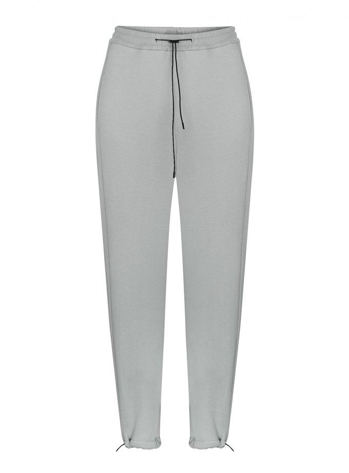 Хлопковые брюки на кулиске SAYYA_FW1092-1, фото 1 - в интеренет магазине KAPSULA