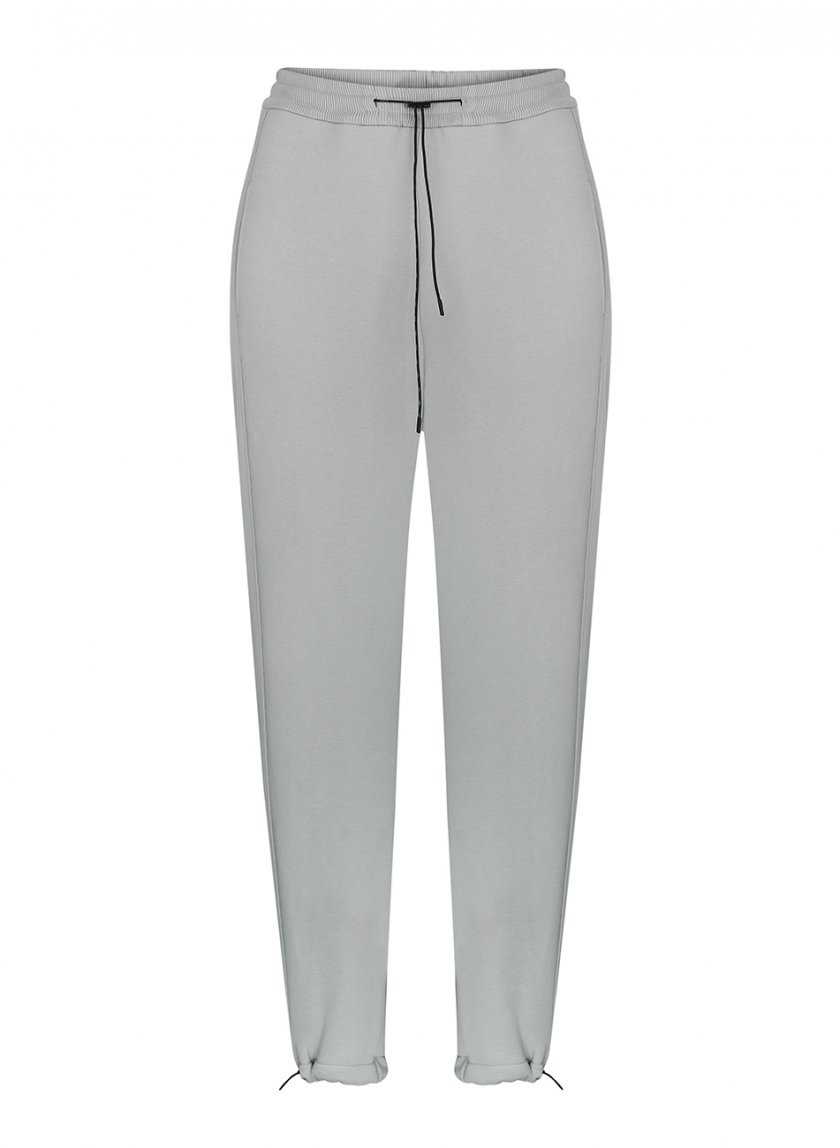 Хлопковые брюки на кулиске SAYYA_FW1092-1, фото 1 - в интернет магазине KAPSULA